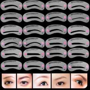 Eyebrow Stencils Set